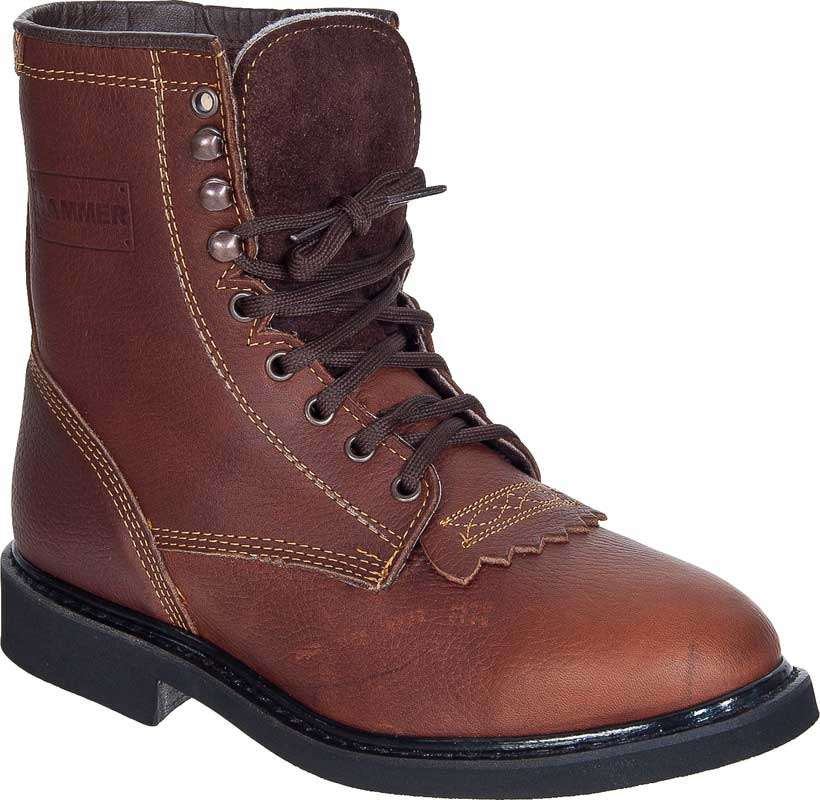 Lace-Up Work Boots Hammer ACM118 Roble