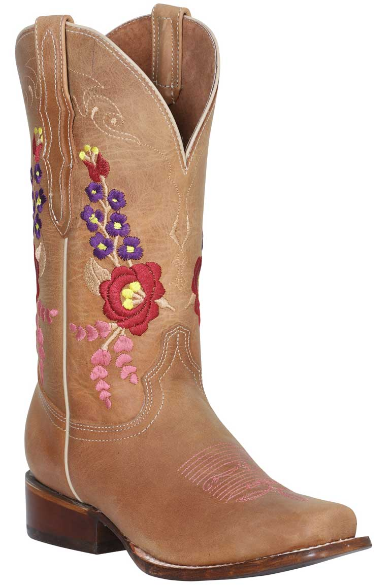 Bota Rodeo Dama The Red Rose Of Texas 42099