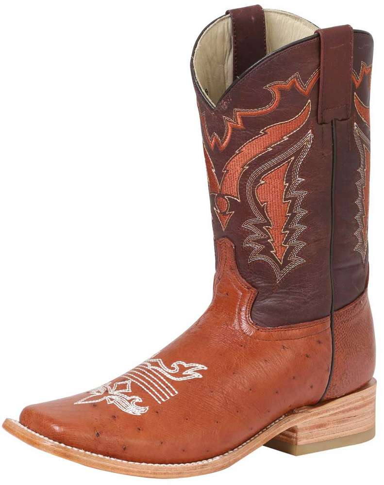 Ostrich Belly Rodeo Boots El General 42155