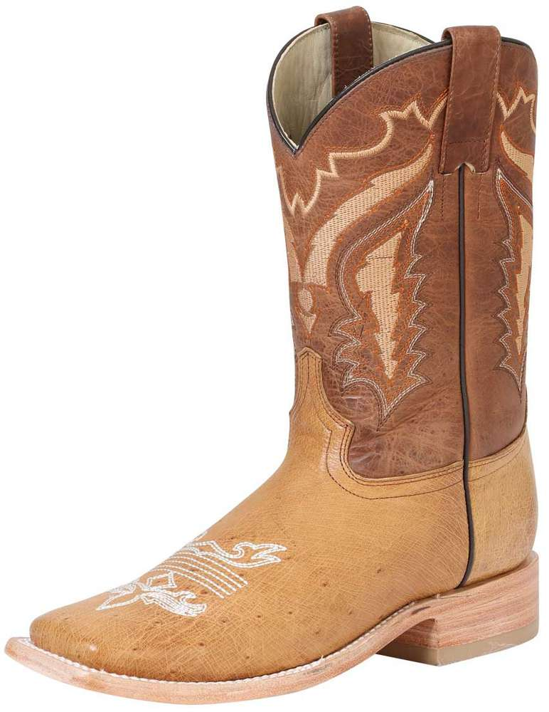 Ostrich Belly Rodeo Boots El General 42156