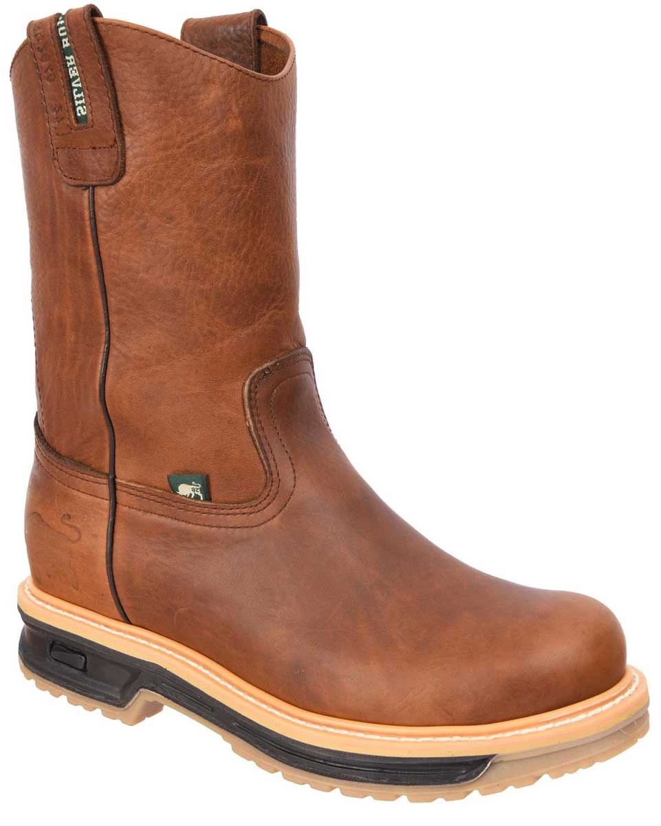 Work Boots Doble Densidad Silver Bull 2060 Ocre