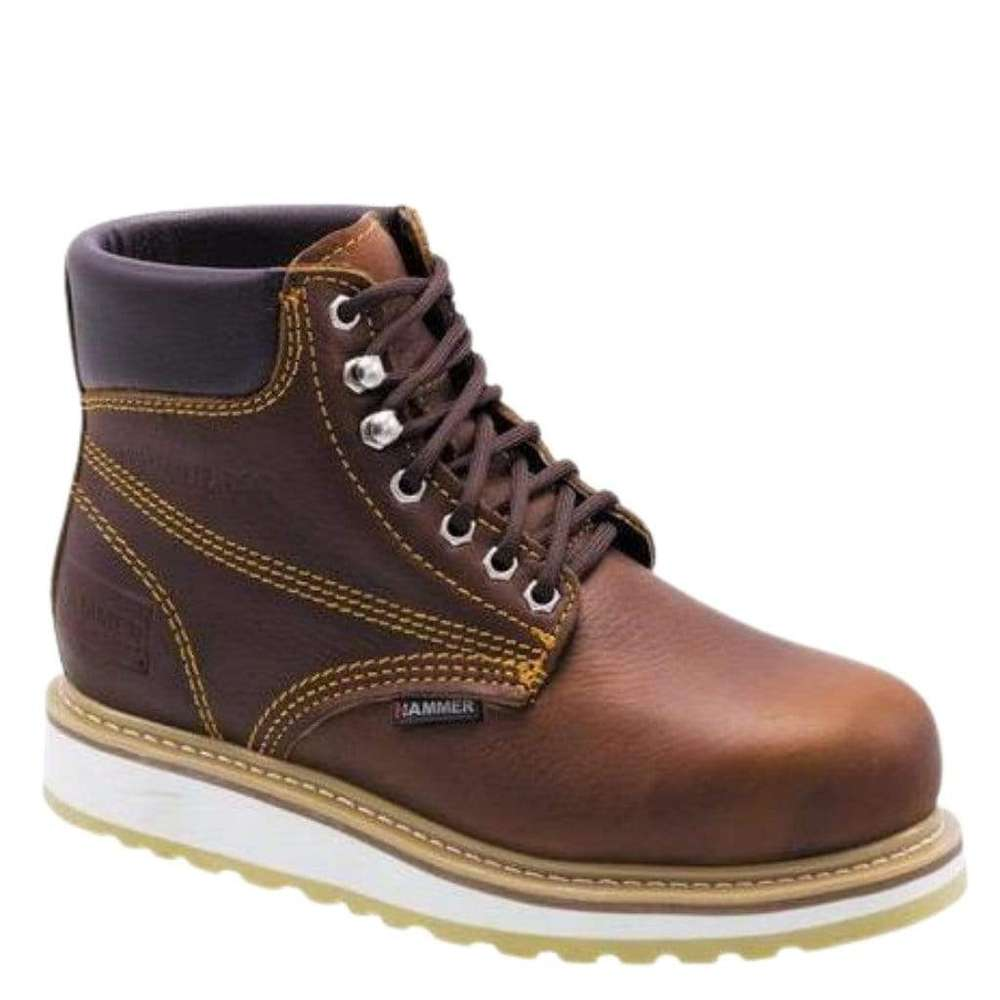 Hammer Work Boots Steel Toe ACM613S Roble