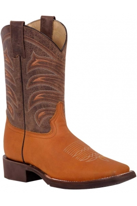 BOTAS RODEO EL GENERAL POLY-TX-37 PIEL BOVINO CRAZY COLOR MIEL