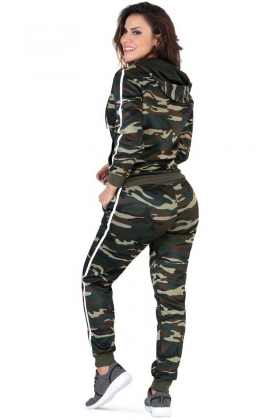 Modern Sportswear Set Of Jacket And Pants Lamasini 1105