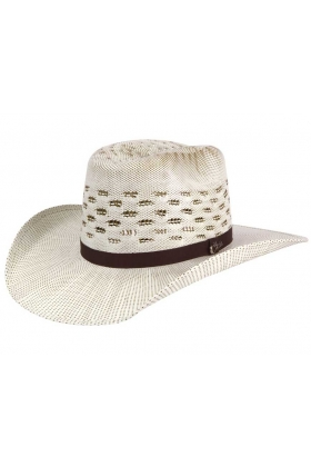 Sombrero El Cartel Ivory/Brown 41655