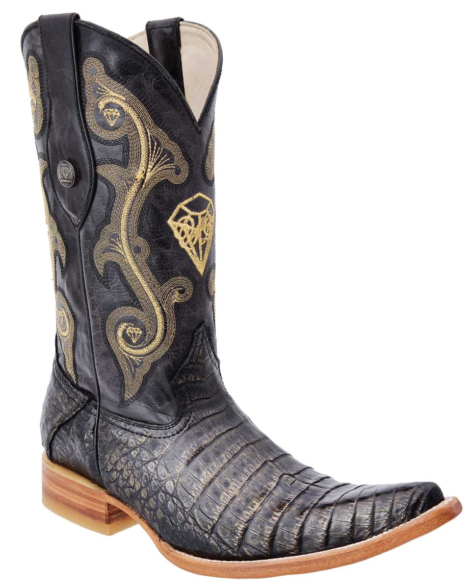 Men's Coco Belly Cowboy WD Boots 10-096 Black/Gold
