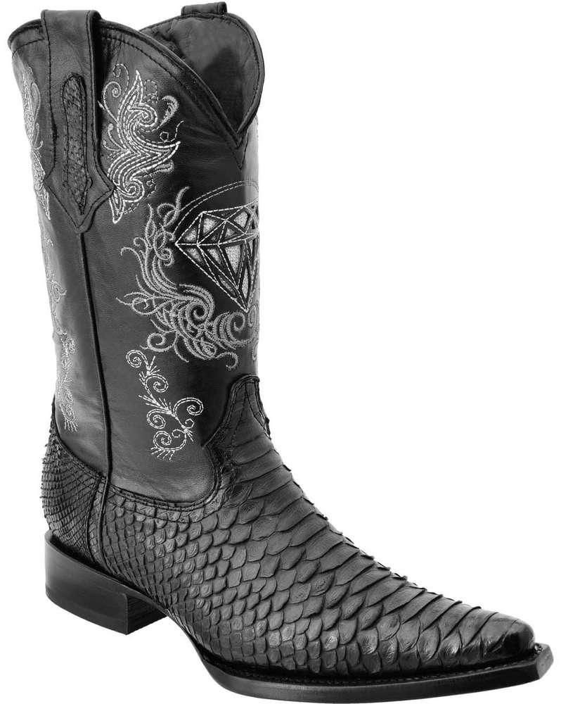 Botas Vaqueras Python WD Boots 099 Negro