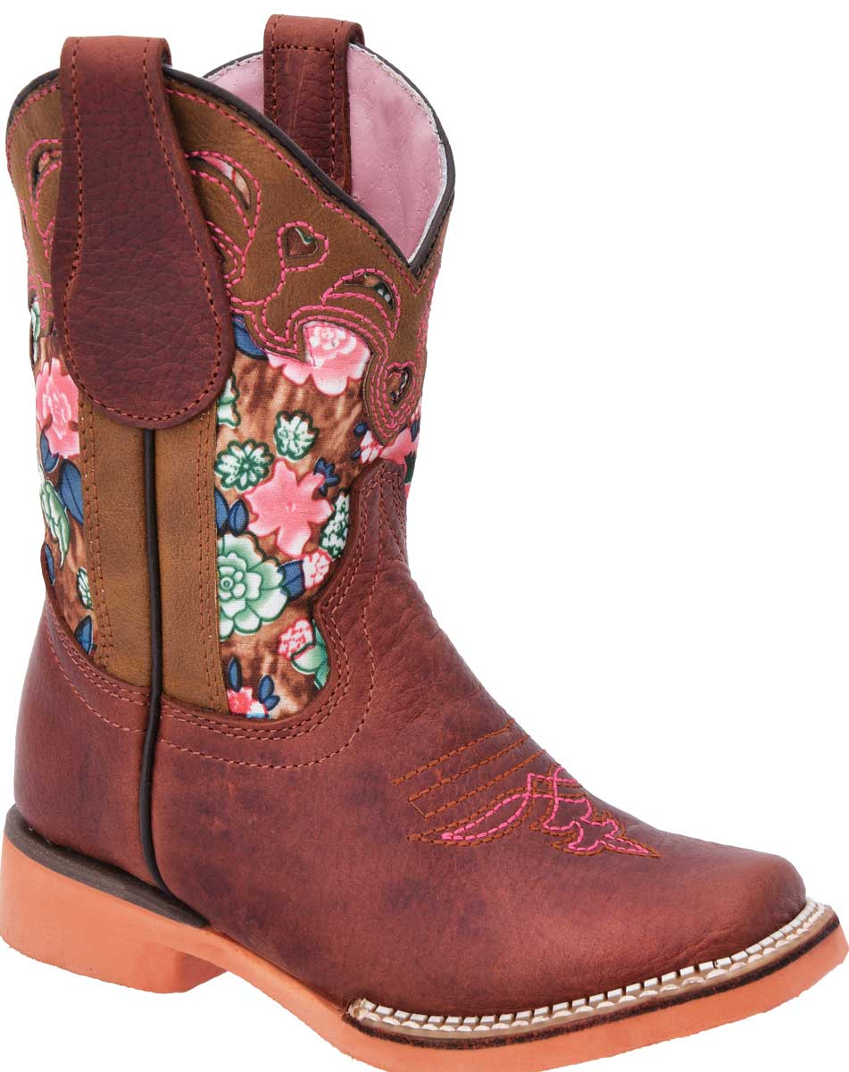 Botas Rodeo Baby Girl WD Boots 387 Rosa