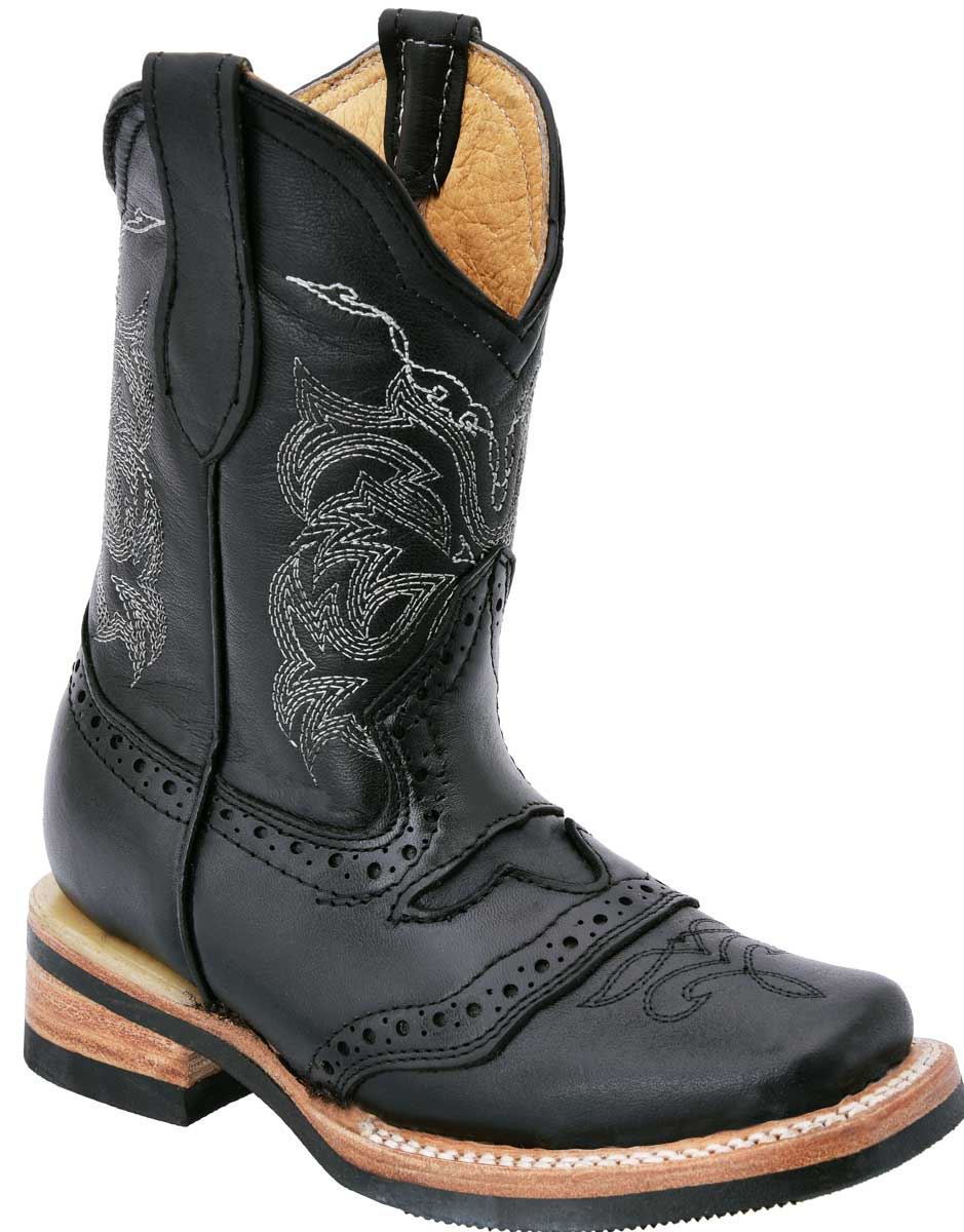 Botas Rodeo Baby WD Boots 390 Negro